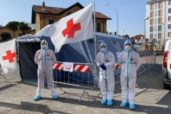 Pre triage all'Ospedale Civile di Vigevano