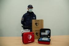 Donazione DAE Polizia Locale Vigevano 2020 3