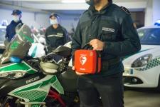 Donazione DAE Polizia Locale Vigevano 2020 8