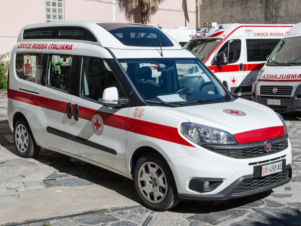 Croce Rossa Vigevano 247 trasporto sanitario