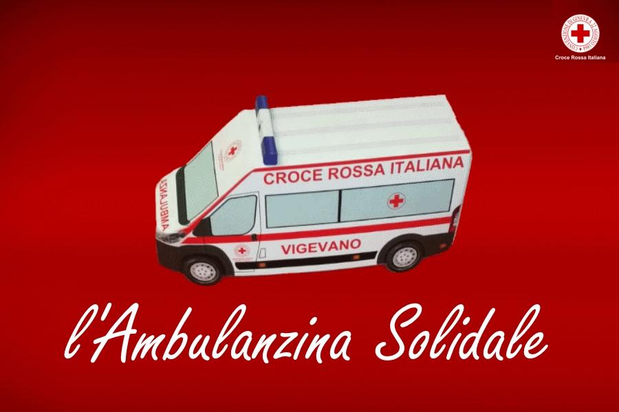 ambulanza solidale cri vigevano