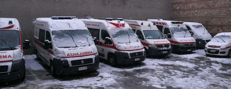 CRI Vigevano sotto la neve