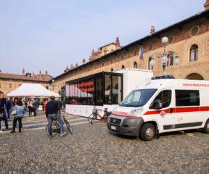 Il cuore in Piazza CRI Vigevano