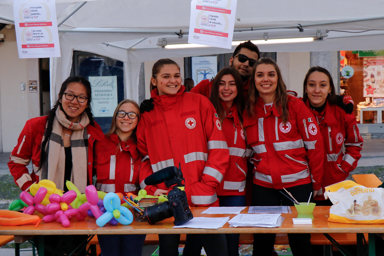 Giornata mondiale vittime della strada 2018 CRI Vigevano