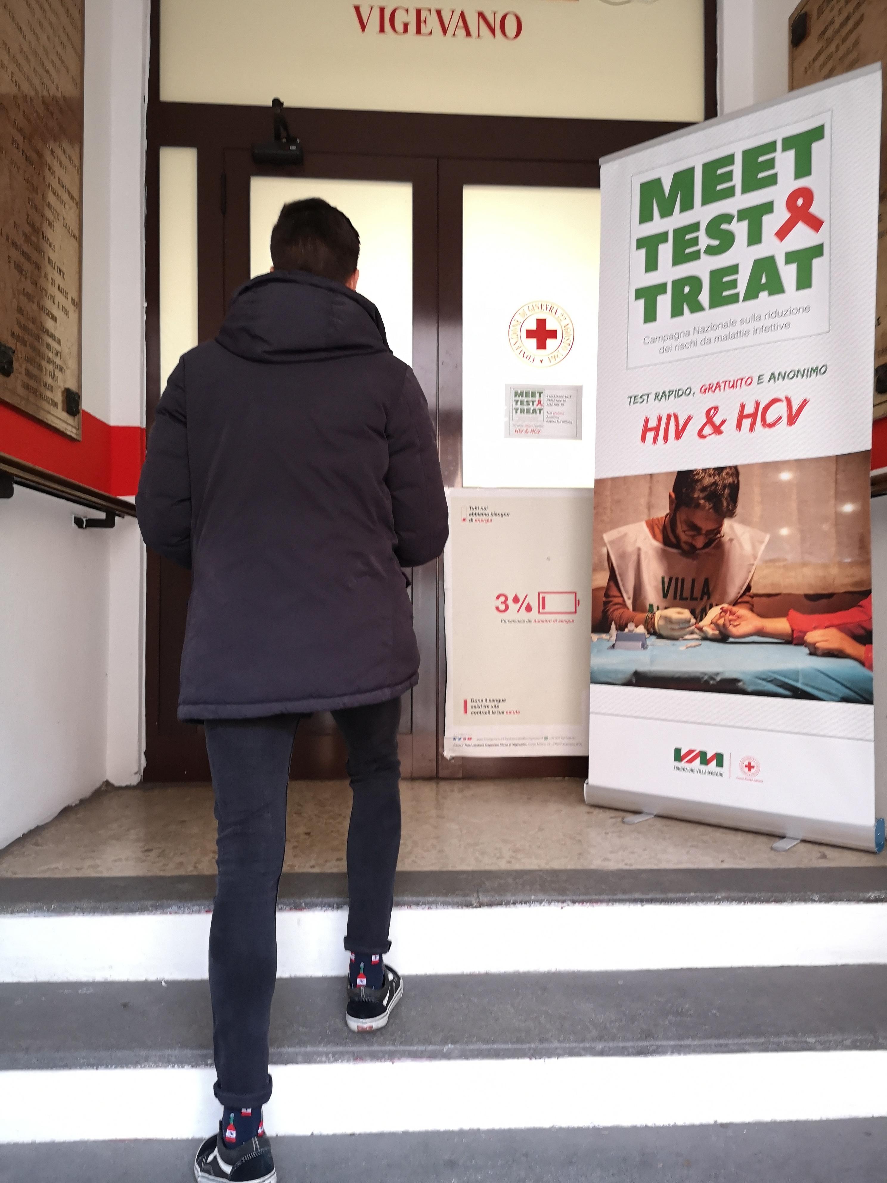 MTT test HIV e HCV CRI Vigevano