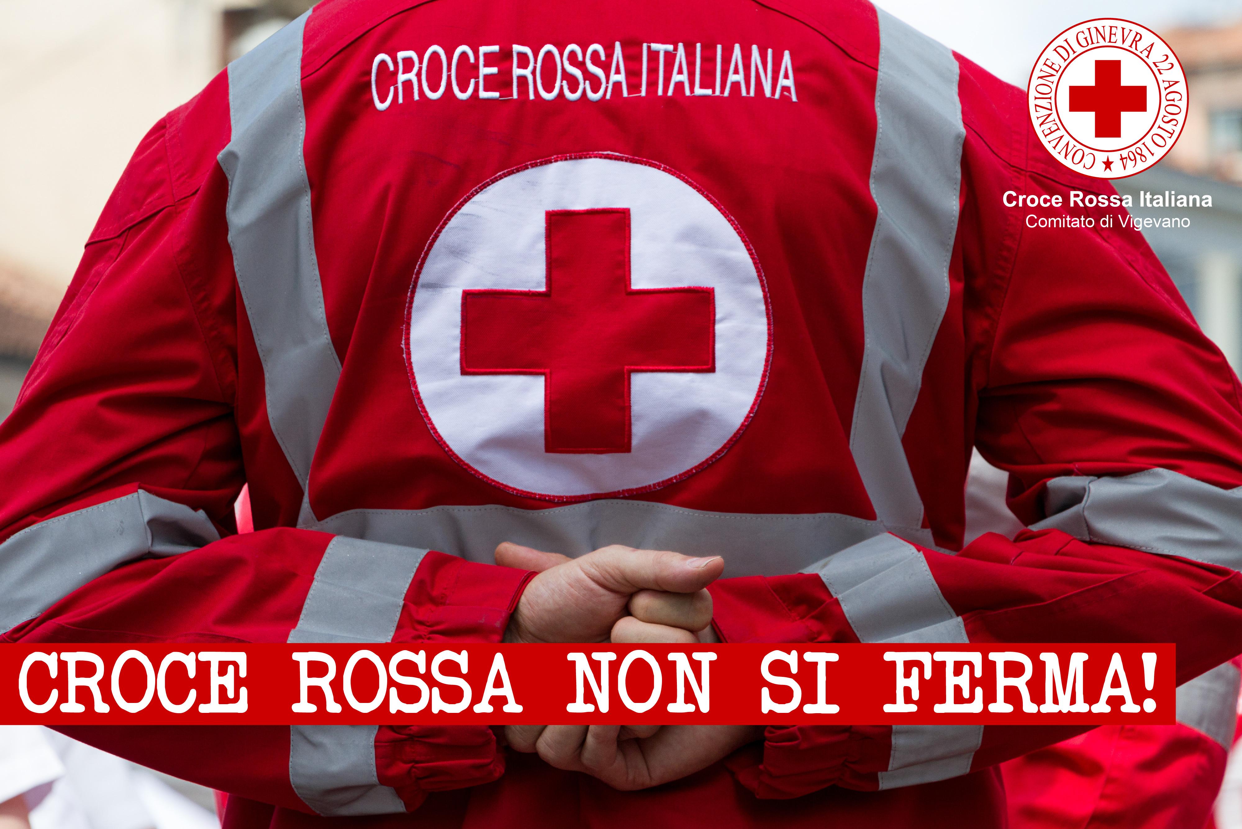 Croce Rossa Non Si Ferma